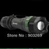 Freeshiping SA-9 Led flashlight 500 Lumens 7W CREE LED Torch Aluminum Zoomable Mini Waterproof Flashlight