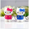 Hello Kitty Usb Flash pen Drive disk Memory Sticks 8GB 16GB 32GB 64GB Free Shipping
