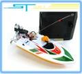 Free Shipping Hot sale New RC micro mini racing boat motor HQ953 HQ 953 remote radio control boat model three colors optional