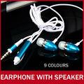 Earphone With Microphone Speaker For iPhone Smartphone MP3 iPod 3.5mm Metal Super Bass In-ear Earbud Earphones Headphone MIC