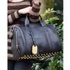 New Fashion European Style Leather Shoulder bag handbag Golden Rivets Bottom free shipping b24 2305
