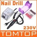 Professional Electric Nail Drill Manicure Machil with Drill Bits 230V(EU Plug)