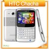 G16 Original Unlocked HTC ChaCha A810 Mobile phone 3G GPS WIFI 5MP Qwerty keyboard Free Shipping