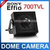 CCTV High Resolution 1/3''Sony 960H 700TVL Effio CCD Hidden Camera/ Mini camera 3.7mm lens Surveillance Security CCTV Camera