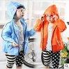2012 chun xia hold joker children practical thin coat/raincoat men and women and children's clothes