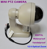 650TVL Super HAD II Sony CCD Effio-e 12 X Optical Zoom Lens Vandalproof Mini PTZ Speed Dome CCTV camera Free Shipping