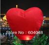 Free Shipping 30 pcs/lot Sky Lanterns heart Shape Wishing Lamp Sky Lamp flying paper birthday wedding party gift Flying Lantern