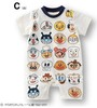 Hot Sale RETAIL ANPAN MAN baby girls boys Rompers Modelling Short Sleeve toddlers infant jumpsuit Summer clothing wear 690026