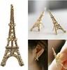 5pairs/1Lot 2014 Fashion Cute Paris Eiffel Tower Earrings Gold and Silver Color Women earring XY-E26 E27