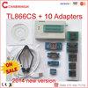 Newest 6.1 version TL866cs USB Programmer + 10 pcs adapters, support 13143+ IC AVR PIC Bios 51 MCU Flash, win7 64bit