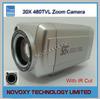 "1/4"" 480TVL Sony CCD 30x Optical IR CUT / ICR Auto Focus Digital CCTV Security Zoom Camera 3.3~99mm Lens Free Shipping"