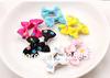 Printed Mini Ribbon Bow Barrette Bow Hair Baby Hair Clips Children Headwear Girls Clips Hairpins for Hair Accessories 40pcs/lot