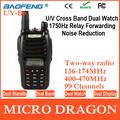 New BaoFeng UV-B6 Dual Band Walkie Talkie Transmitter 136.00 -174.00MHz & 400.00- 470.00MHz FM Ham Two Way Radio Station