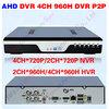 4 Channel DVR Recorder 1CH Audio Output VGA HDMI Output Network 4CH DVR P2P Cloud Tech Easy Remote Access CCTV Full D1 Mini DVR