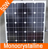 50W High quality Monocrystalline solar panel solar cell panels for 12V battery charging mono solar cell Free shipping