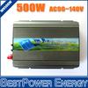 500W Solar Micro Grid Tie Inverter DC22~50V to AC90~140V On Grid Inverter Pure Sine Wave for 500~600W 24V 36V Solar Panel