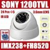"SONY IMX138 sensor + FH 8520 DSP Demo Camrea CCTV 1/2.8"" SONY 1200TVL Indoor CCTV Camera wholesale For CCD Camera Free Shipping"