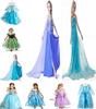 Retail!!! Frozen Dress Elsa & Anna Summer Dress For Girl 2014 New Hot Princess Dresses Brand Girls Dress Children Clothing