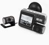IV1000 720P Dual Camera Car Black Box DVR with Rear Camera 1280x720 Full HD Car Dash Board Camera Recorder G-Sensor/IR night