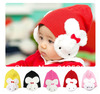 1 Pcs 5 colors baby cap Cartoon rabbit Cotton infant kids hats children baby hat