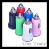 Free shipping New 50PCS/Lot mini usb car charger adapter for iphone4 4s ipad 1 2 mp3 mp4 mobile phone #8089