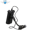 360 rotatable Universal car holder with USB charger for Iphone 4s/4/3GS/3G Microsoft Samsung HTC Nokia Blackberry Motorala phone