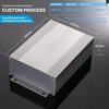 107x47x100mm (WxHxL) OEM Custom Aluminium Extruded Electronic Enclosure