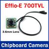 Hot Promotion 700 TVL 3.6mm Lens Color Sony CCD Effio-E 4140+811 Board CCTV Camera Board for CCTV Security