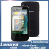 original Lenovo A800 MTK6577t Dual Core phone 1.2GHz 4.5 inch Screen Android 4.0.4 unlocked wifi 3G Smartphone