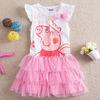 Retail,New summer dress 2014 fashion peppa pig dress children clothing brand dress jersey kids baby girls party dress clothing