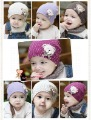 Wholesale 10pcs/lot 2 size cute bear Baby Cap Kids Hats Cotton Beanie Infant Hat children Baby Hat