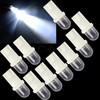 Free Shipping 10packs/Lot 10X 168 194 501 W5W Car LED Light Side Dashboard Wedge Light T10 Bulb Cool white 18