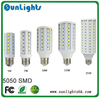 165 102 86 60 44 36 LED SMD 5050 30W 20W 15W 12W 9W 6W E27 E14 B22 corn light Lamp Warm|Cold White 220V /110v