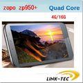 Original ZOPO ZP950 of Leader Max 5.7 Inch Quad core Smart phone MTK6589 16GB ROM 1G RAM Quad Band Unlocked Polish Free shipping