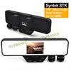 DV100 Rearview Mirror DVR+1280*720P 30FPS +SOS+4 Digital Zoom + IR Night Vision+ 120 Degree Wide Angle