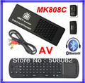 [ Measy RC12 air mouse ] MK808C Mini PC RK3066 Android 4.2.2 Dual Core Android TV BOX Wifi HDMI + AV Port Out + Bluetooth