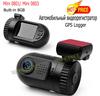 Original E-prance Mini 0801 Ambarella A2 1080P / Mini 0803 A7 1296P Car DVR Camera GPS Logger Built-in 8GB Dash Cam Recorder C05