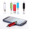 OTG external storage Pen USB Flash Drive Real capacity 2G 4G 8GB 16G 32G USB2.0 U Disk for Smart Phone tablet PC Freeship
