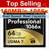 Brand Lexar 1000X 64 gb capacity cf card 64gb compact flash card memory 64gb memory card 64gb flash card 64g for digital camera