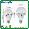 led bulb e14 3W 5W 7W 10W 15W Lamps E27 B22 AC220V-240V 2835 SMD Cool/Warm White lights free shipping