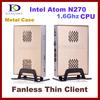 2013 Thin Client Computer, Mini PC, Intel Atom N2800 1.86Ghz Dual Core, 2GB RAM, 32GB SSD, WiFi, 1080P HDMI, Windows 7 OS
