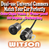 WITSON Dual-use Camera CCD Rear view Parking Color Camera Car Reverse Backup Waterproof Camera with wide view angle--Promotion!!