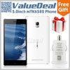 Original Leagoo Lead 1 Quad Core MTK6582 celular android 4.4 mobile smartphone dual sim russian1G RAM 8GROM 3G GPS PK inew V3