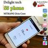 Real Fingerprint S5 Phone SM-G900F Phone MTK6592 Octa Core 5.1