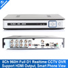 H.264 8Ch 960H DVR Recorder HD1080P HDMI Output Network FUll D1 Real time CCTV DVR  P2P Cloud wifi/3G Coupon 2016