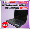 drop shipping 13 inch laptop computer 750GB HDD with dvd writer Intel Atom Processor N2600 (1M Cache 1.8 GHz) windows 7