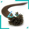 "free shipping 16""-22""Pre-Bonded hair U Tip Keratin Glue Nail Tip Hair Extension Silky Straight hair products #08,100s"