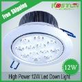 led ceiling light, AC85-265V 12W High power led down light