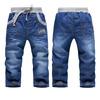 High quality 1 pcs KK-RABBIT brand winter thick cashmere kids Boys baby pants children jeans