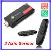 [ Gyroscope 3 Axis Sensor C120 air mouse ] Quad Core Android TV Box MK809IV MK809 IV Mini PC RK3188 Wifi Cortex-A9 2GB RAM 8GB